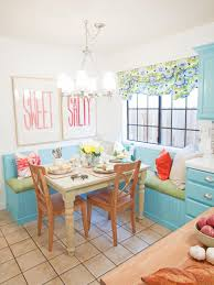 Turquoise And Orange Kitchen by Kitchen Table Design U0026 Decorating Ideas Hgtv Pictures Hgtv