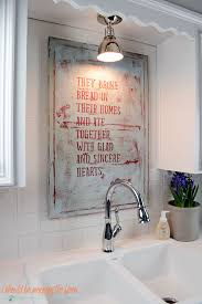 Diy Kitchen Sink by I Should Be Mopping The Floor Farmhouse Sink And Diy Kitchen Art
