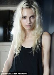 ultra feminine hair for men male model andrej pejic reveals where he gets his stunning looks as
