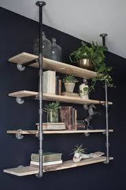 Bar Wall Shelves by Best 25 Industrial Shelving Ideas On Pinterest Pipe Shelves