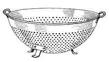 passoire de cuisine passoire wikipédia