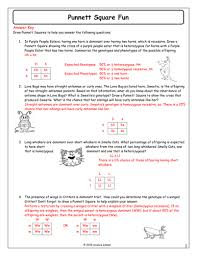 all worksheets genetics worksheets middle free