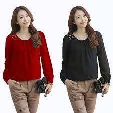blouse wanita jual blouse ceri motek yt pakaian wanita terjual