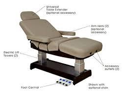 oakworks electric massage table oakworks performalift salon top espa ca