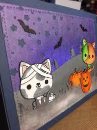 halloween kittens halloween card with mama elephant kittens holylise