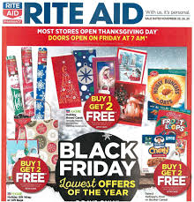 rite aid black friday 2017 ad scans slickdeals