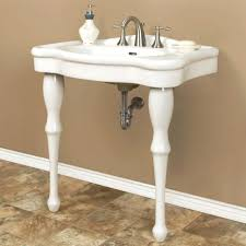 Console Bathroom Sinks Bathrooms Design Small Powder Room Console Sinks For Bathrooms