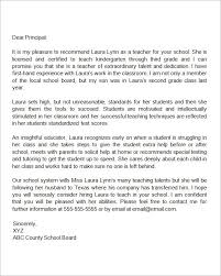 School No Letter Of Recommendation Recommendation Letter For A Who Is Relocating Letter