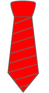 clip art tie 88961
