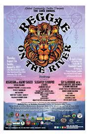 reggae on the river 2017 festival program guide by mateel