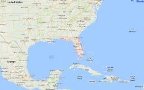 Google Map Of Florida Hurricane Matthew Has Left Communities In Florida Devastated