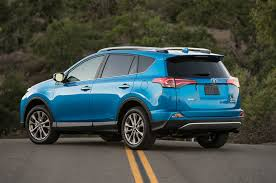 lexus nx and toyota rav4 2016 toyota rav4 hybrid limited review auto trend us