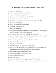 Great Questions To Ask A 25 Questions To Find The Gold In A Christian S
