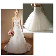 wedding dress hoop mori wedding dress 2105 with jupon hoop 165 at glamourous