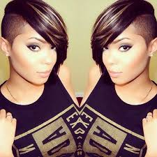 hair cuts that are shaved on both sides and long on the top for women 48 best shaved side shawty images on pinterest side cuts