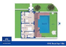 one royal spa villa top luxury villas greece porto zante villas