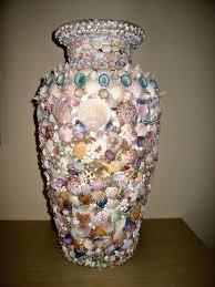 Seashell Centerpiece Ideas by 54 Best Seashell Vase Images On Pinterest Vases Seashells And