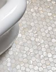 flooring diy mosaic tile bathroom floor ideas retro gray