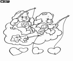 care bears coloring pages printable games