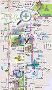 Map Of The Strip In Las Vegas by Las Vegas Tourist Map Tourist Map Of Las Vegas Strip United