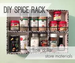 Old Fashioned Spice Rack Diy Spice Rack From Dollar Store Materials Dollargeneral Dollar
