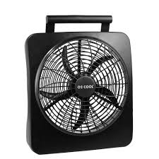 battery operated fans o2cool 10 in portable fan 1071 the home depot
