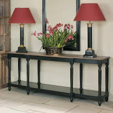 Painted Console Table Upton Weathered Oak Top Console Table Black Oka