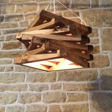 Spiral Pendant Ceiling Light Rustic Wood Light Rustic Ceiling Light Wood Light Fixture