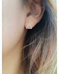 simple ear rings sweet deal on triangle earrings simple stud earrings simple