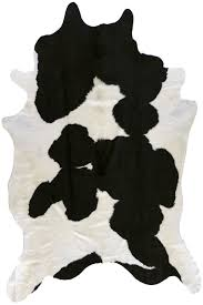 faux cowhide rug black and white with large faux cowhide skin rugs