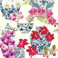 chinoiserie wrapping paper entertaining with caspari gift wrapping paper
