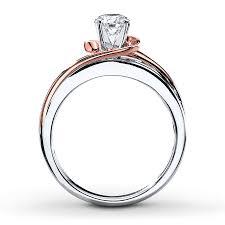 two tone gold engagement rings wedding rings big fashion rings two tone bridal sets fashion