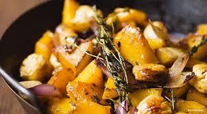 comment cuisiner la citrouille la citrouille aux marrons et aux oignons