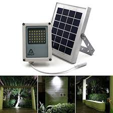 Security Light Solar Powered - solar flood light alpha 180x solar security light led flood