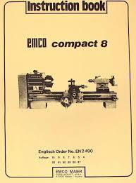 emco unimat 3 mill metal lathe parts manual ozark tool manuals