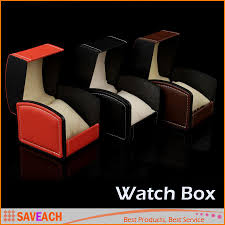 Chair Boxes Moving Pu Leather Watch Box Gift Boxes Watch Case With Pillow Watch