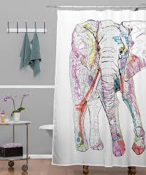 home goods shower curtains bathroom simple design sketchy elephant