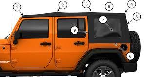 4 door jeep wrangler top sunrider top fold 4 door jeep wrangler