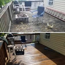 how to pressure clean and treat your wood deck u2013 pressurewashr