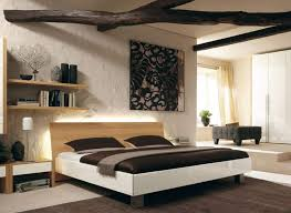 Functional Bedroom Furniture Great Bedroom Designed With Contemporary Furniture And Abstract