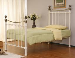 Metal Bed Frames Single by Monmouth 3ft Single Ivory Metal Bed Stunning Cream Bed Frame With