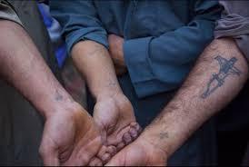 coptic cross wrist tattoos cross wrist
