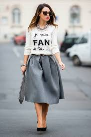 sweater skirt 18 sweater and skirt style combinations fashionsy com