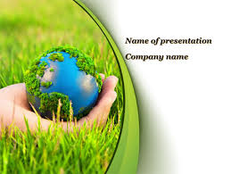 templates powerpoint earth earth in hand powerpoint template backgrounds 09678