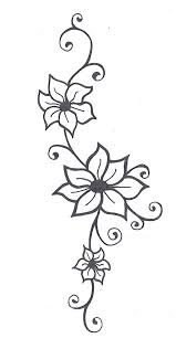 rose vine drawing designs 25 best ideas about flower vine tattoos