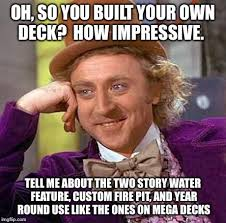 Use Your Own Picture Meme - creepy condescending wonka meme imgflip