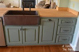 How To Finish Unfinished Cabinets How To Glaze Cabinets At Home With The Barkers