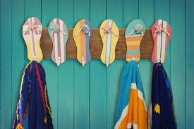flip flop towel flip flop towel holder