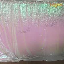 backdrop fabric sparkly sequin backdrop iridescent 20x10ft changed white shimmer