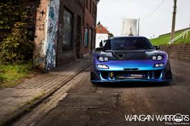 rx7 dare to be different murat u0027s mazda rx7 fd wangan warriors